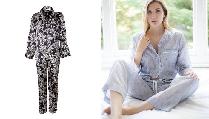 Derek Rose İpek Pijama
