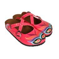 Grozy Pink Mask Women's Slippers