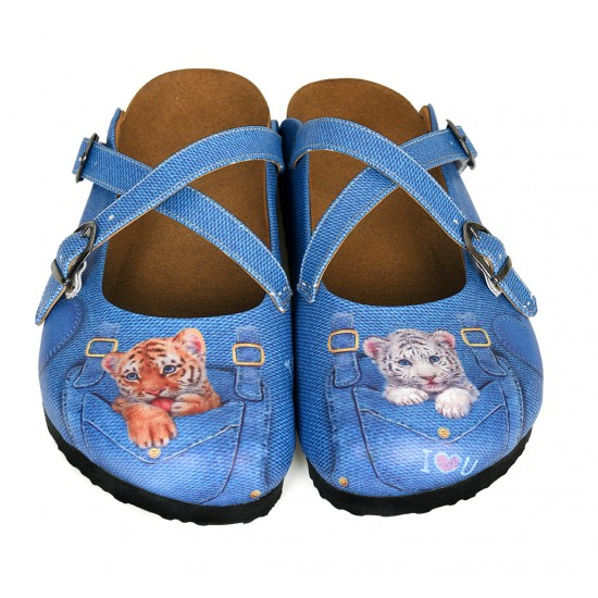 Grozy Baby Tiger Women's Slippers