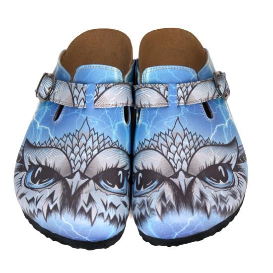 Grozy Blue Owl Kadın Terlik