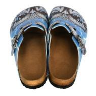Grozy Blue Owl Women's Slippers