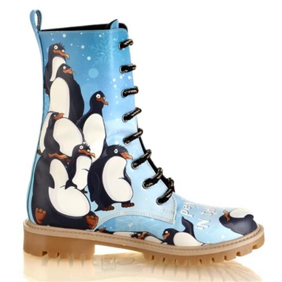 Grozy Penguin Ladies / Kids Long Boots