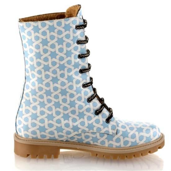 Grozy Turkish Motif Lady / Children's Long Boots