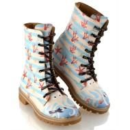 Grozy Octopus Ladies / Children's Long Boots