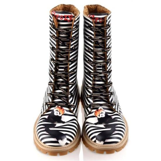Grozy Cute Fox Ladies / Kids Long Boots