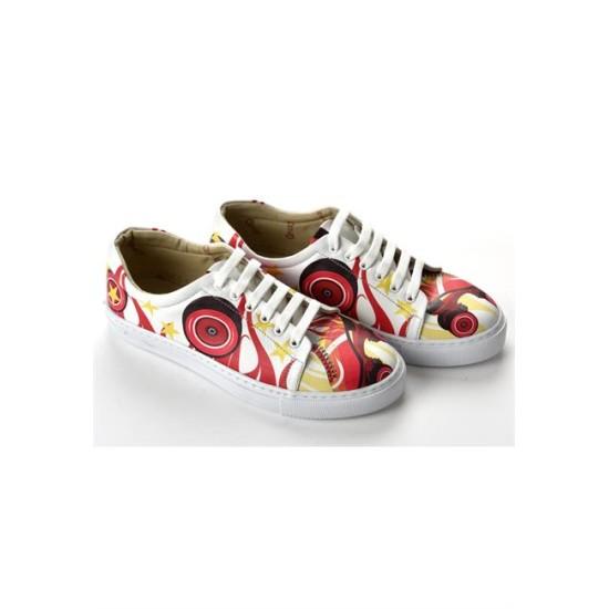 Grozy Red Skate Miss Sneakers
