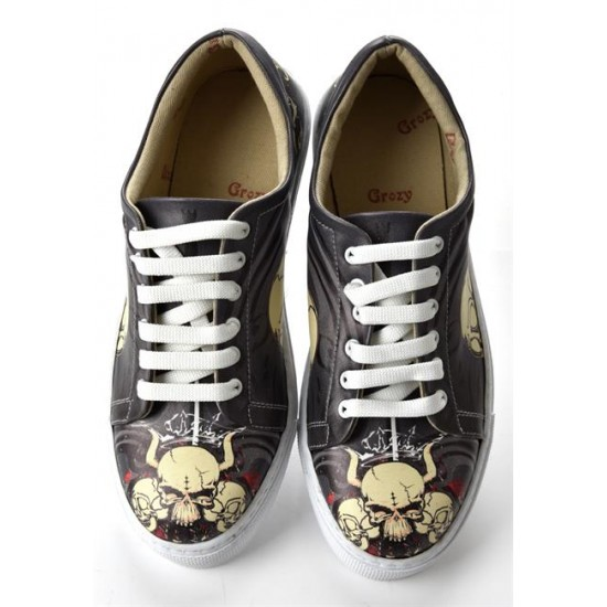 Grozy Horned Skull Miss Sneakers