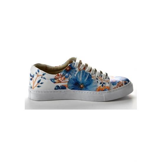 Grozy Blue Flowers Miss Sneakers