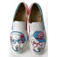 Grozy Wise Dog Vans Ladies Shoes