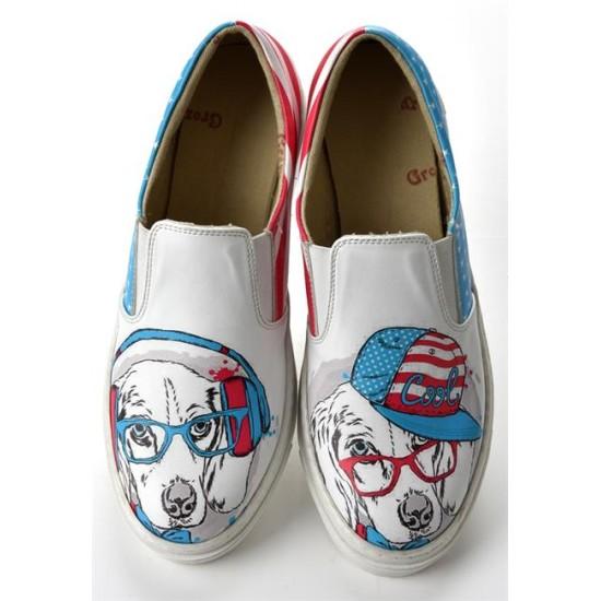 Grozy Wise Dog Vans Bayan Ayakkabı