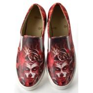 Grozy Fire Touchs Vans Ladies Shoes