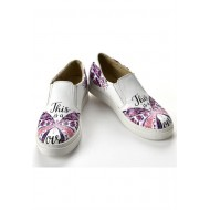 Grozy This Is a Love Vans Bayan Ayakkabı