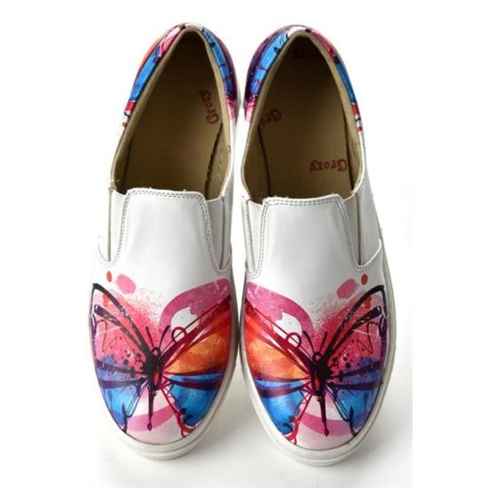 Grozy Butterfly Vans Ladies Shoes