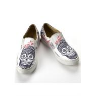 Grozy Exzotic Skull Vans Ladies Shoes