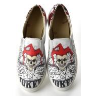 Grozy Joker Skull Vans Ladies Shoes