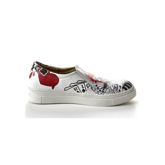 Grozy Joker Skull Vans Bayan Ayakkabı