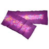 Felt and Silk Shawl - Purple