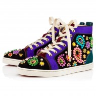 Christian Louboutin Color Embroidered