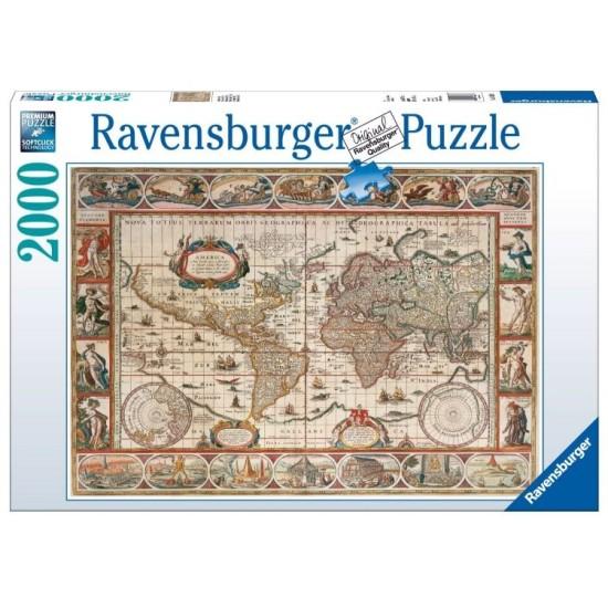 2000 PUZZLE 1650 WORLD MAP RPB166336