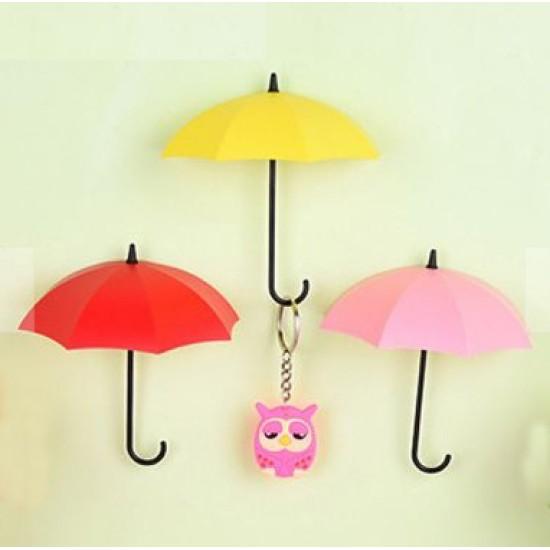 3'lü Şemsiyeli Anahtarlık