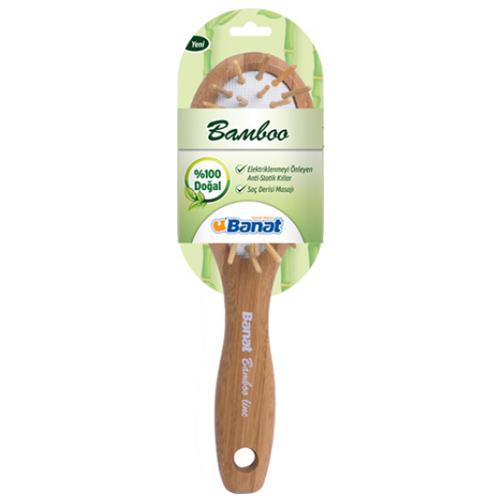 Banat Bamboo 228 Hairbrush