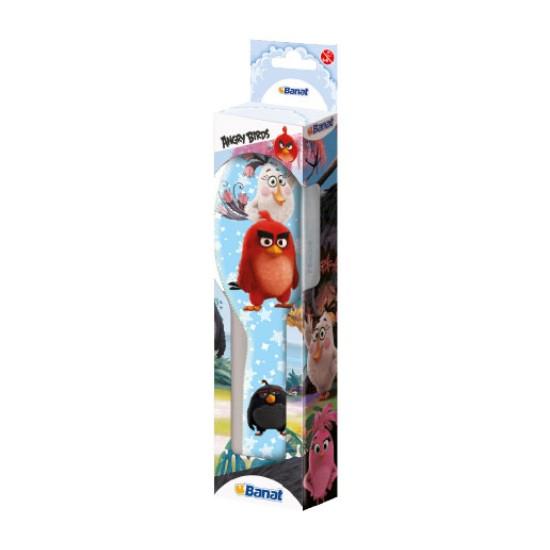 Banat Angry Birds saç fırçası _ Açık Mavi