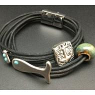 Black Heron Bracelet