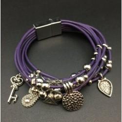 Purple Multi Chance Bracelet