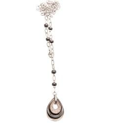 Zircon Long Necklace