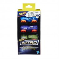 Nerf Nitro Car 3 Pack C0774-E1236