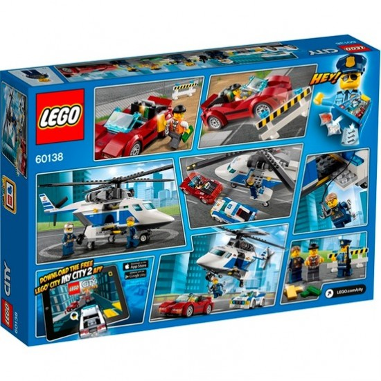 LEGO City 60138 High Speed Tracking