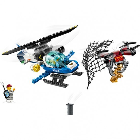 LEGO City 60207 Gökyüzü Polisi İnsansız Hava Aracı Takibi