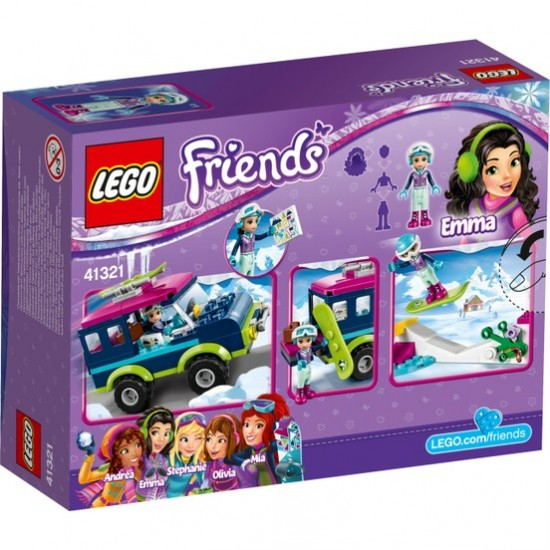 Lego Friends 41321 Ski Resort Jeep