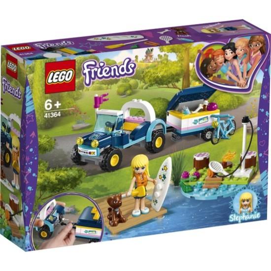 Lego Friends 41364 Stephanie's Jeep and Trailer