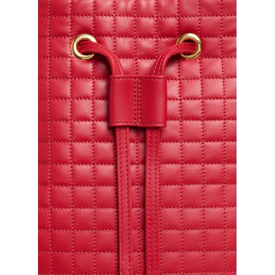 Celine Miss Ruffle Small Bag Red