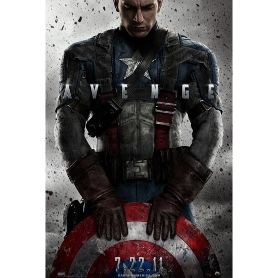 First Invincible 3D Captain America (2011) Captain America The First Avenger 3D
