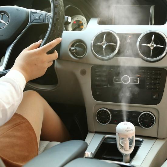 Araç İçi Buharlı Mini Hava Temizleyici