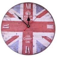 Printed Flag Clock