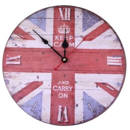 Baskılı Bayrak Saat