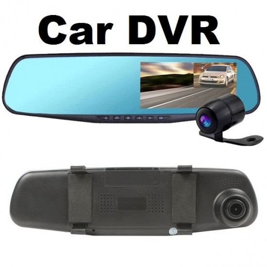 Dual Camera Vehicle DVR