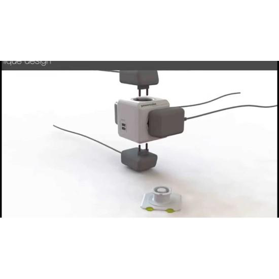 Cube Socket USB Charged