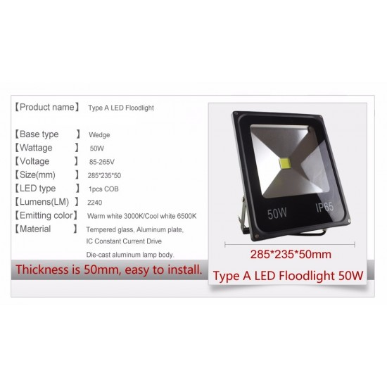 50w Spot led Lamp