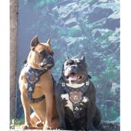 Bakır İşleme Köpek Göğüs Tasması