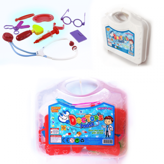 Doctor's Set with Toy Bag