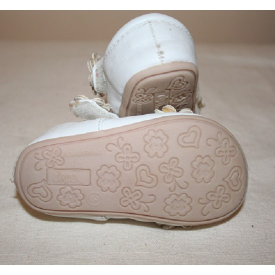 Circo Baby Shoes White
