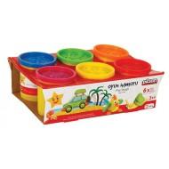 Pilsan 6-piece play dough