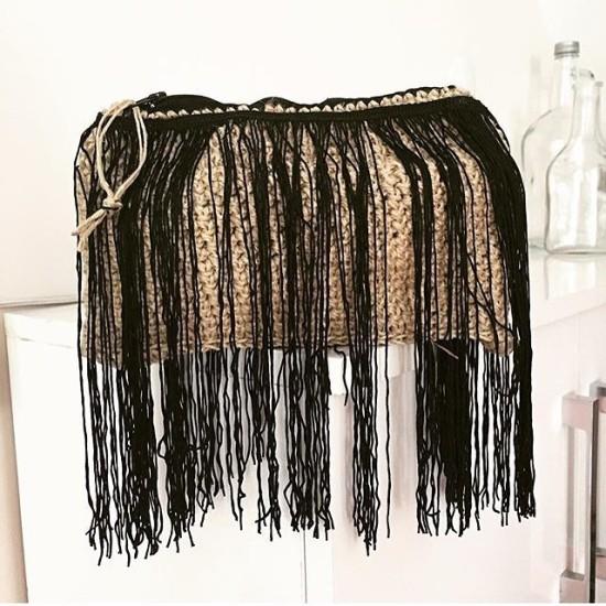 tassel mini handbag