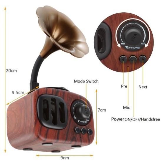Iphone Wireless Bluetooth Speaker - RED