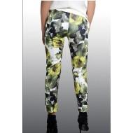 Horoscope Textile Floral Patterned Pants