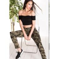 Horoscope Textile Camouflage Pants